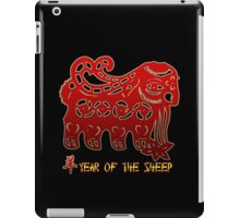 Year of The Sheep Goat Ram iPad Case/Skin