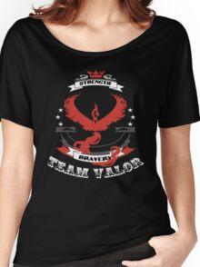 Team Valor Pokemon Go  Women's Relaxed Fit T-Shirt