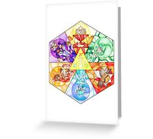 The Seven Sages Greeting Card
