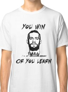 Conor McGregor UFC Black and White T Classic T-Shirt