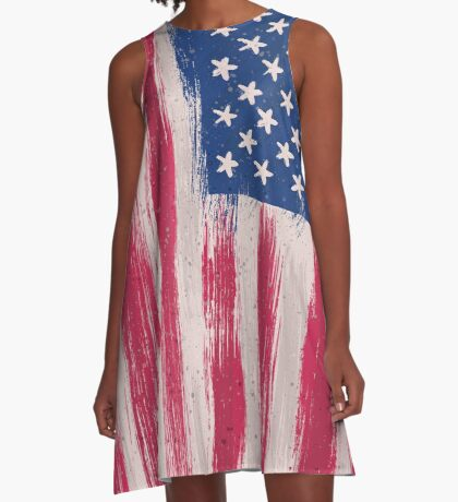 Never to late for a patriot A-Line Dress
