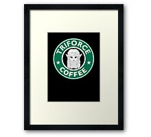 Triforce coffee Framed Print
