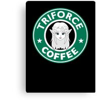 Triforce coffee Canvas Print