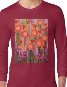 Flowers in Spring Long Sleeve T-Shirt