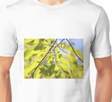 Looking up in the garden again Unisex T-Shirt