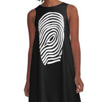 Fingerprint  A-Line Dress