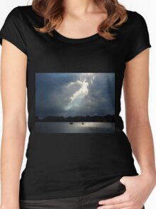 Thunder And Water Women's Fitted Scoop T-Shirt