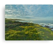 Pacific Coast Sunrise - Cambria, California Metal Print