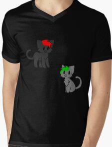 Septiplier cats Mens V-Neck T-Shirt