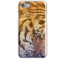 Tiger numero tres iPhone Case/Skin