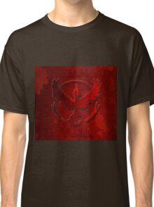 Team Valor Pokemon Classic T-Shirt