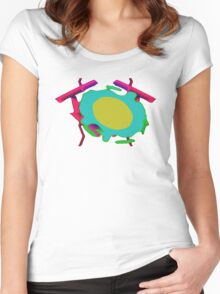 broilingEggs Women's Fitted Scoop T-Shirt