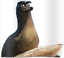 Gerald Finding Dory Poster