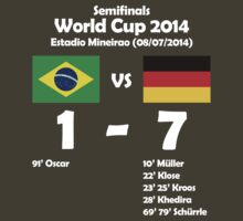 Brazil 1 - Germany 7 2014 by LgndryPhoenix