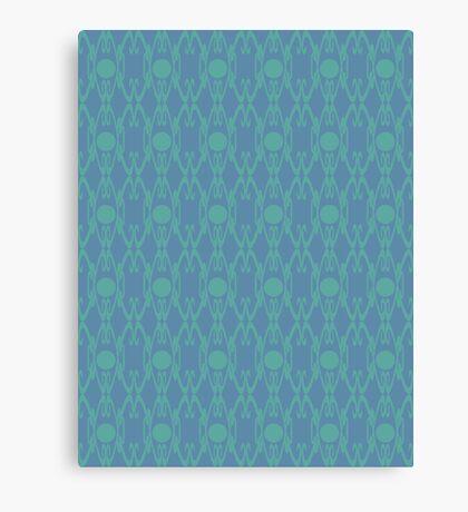Royal Air Force Blue Design A Canvas Print