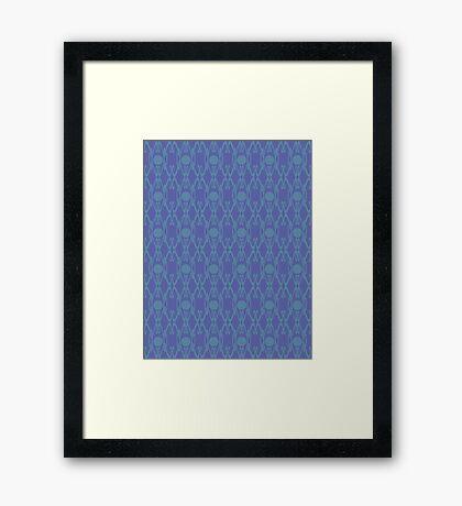 Royal Air Force Blue Design C Framed Print