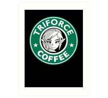 Triforce coffee 1 Art Print