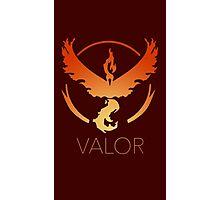 Pokemon Go Team Valor Photographic Print