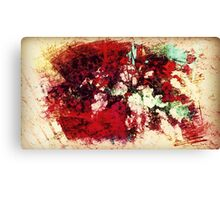 Painting of Flowers Canvas Print