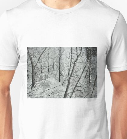 Frosty Perch (Full) Unisex T-Shirt