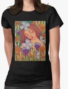 When I Think of You Womens Fitted T-Shirt