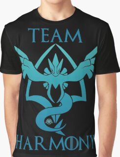 Team Harmony - Black Graphic T-Shirt