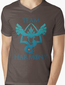 Team Harmony - Black Mens V-Neck T-Shirt