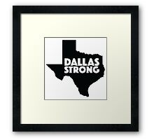 Dallas Strong Framed Print