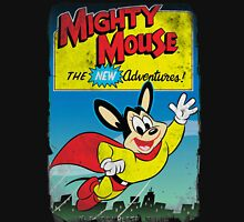 Vintage Style : The New Adventures Of Mighty Mouse Unisex T-Shirt