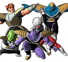 Ginyu Force by dickmon