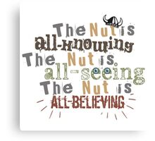 Dreamworks Dragons - The Nut is... Canvas Print