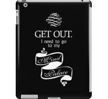 I Need To Go To My Mind Palace - BBC Sherlock iPad Case/Skin