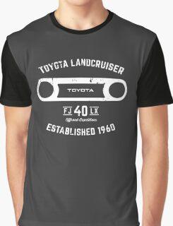 Toyota 40 Series Landcruiser FJ40 LX Round Bezel Est. 1960 Graphic T-Shirt