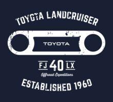 Toyota 40 Series Landcruiser FJ40 LX Round Bezel Est. 1960 Kids Tee
