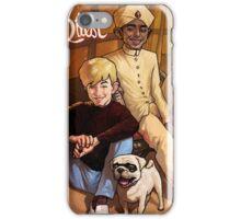 Jonny Quest And Hadji iPhone Case/Skin