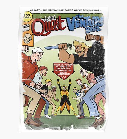 Jonny Quest : The Venture Bros. Poster