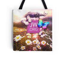 JW Flower mountain Tote Bag