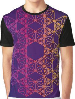 Sacred Geometry Hexagonal Graphic T-Shirt
