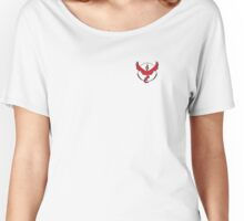 Team Red Women's Relaxed Fit T-Shirt