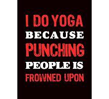 Yoga, fitness and Health Photographic Print