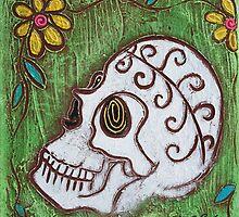 Tribal Skull by Laura Barbosa