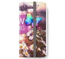 JW Flower mountain iPhone Wallet/Case/Skin