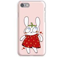 strawbunny iPhone Case/Skin