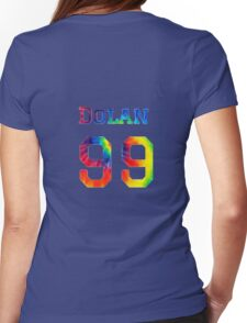 Dolan 99 tie dye Womens Fitted T-Shirt