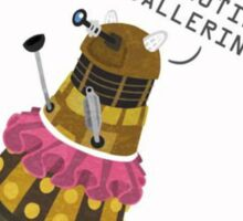 Doctor Who Dalek Ballerina Sticker