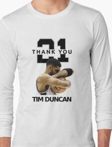 Thank You Timmy - Spurs NBA  Long Sleeve T-Shirt