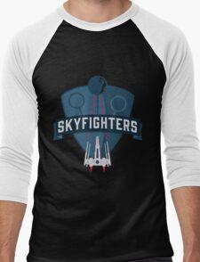 Skyfighters  Men's Baseball ¾ T-Shirt