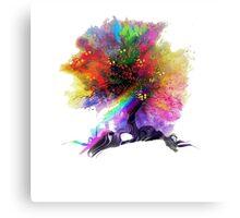 ZEDD True Colors Vintage Paint Splatter  Canvas Print