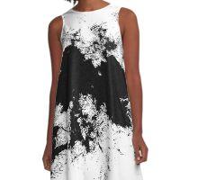 Black Hole A-Line Dress