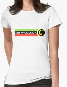 Air Wakanda- Logo Womens Fitted T-Shirt